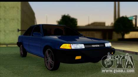 Toyota Corolla 1990 4-Door Sedan for GTA San Andreas