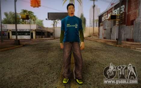 Ginos Ped 10 for GTA San Andreas