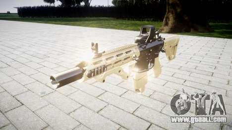 Rifle AR-15 CQB typeeotech for GTA 4