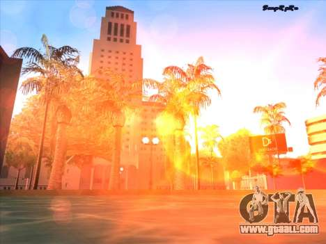 Sunset ENB for GTA San Andreas seventh screenshot