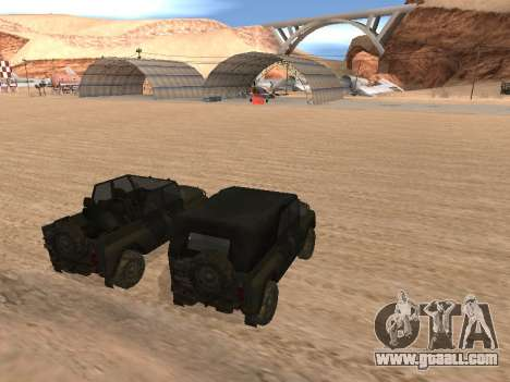 UAZ 3151 (CoD 4 MW) for GTA San Andreas left view