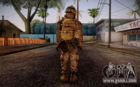 Blackburn from Battlefield 3 for GTA San Andreas second screenshot