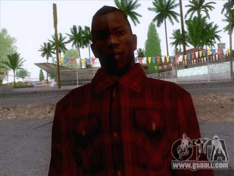 New Fam Skin 1 for GTA San Andreas third screenshot