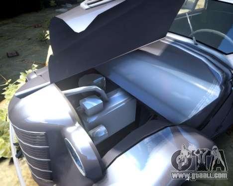 Moskvich 400 for GTA 4 inner view