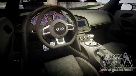 Audi R8 plus 2013 HRE rims Sharpie for GTA 4 side view