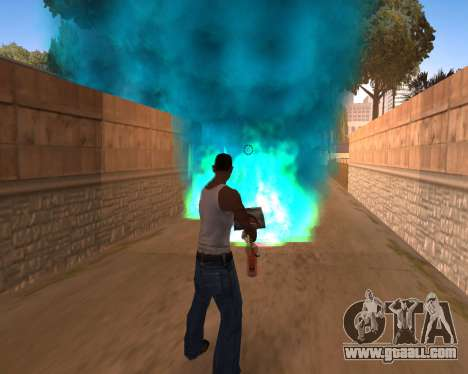 Freaky effects for GTA San Andreas