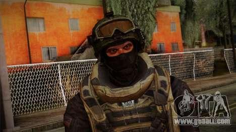 Modern Warfare 2 Skin 4 for GTA San Andreas third screenshot