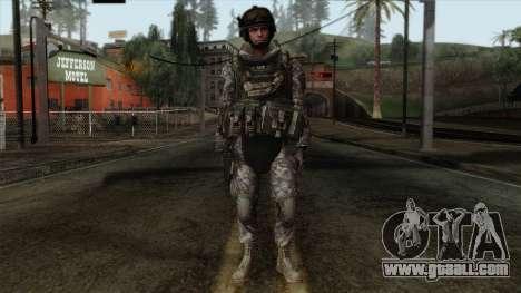 Modern Warfare 2 Skin 7 for GTA San Andreas