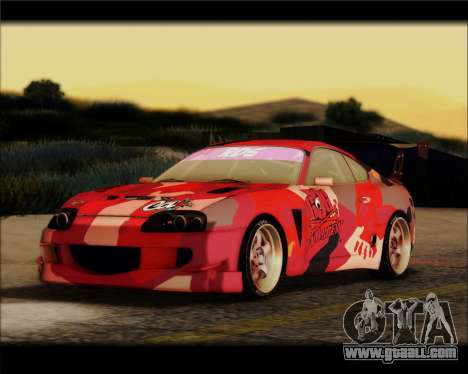 Toyota Supra Fail Crew for GTA San Andreas