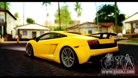 Lamborghini Gallardo LP 570-4 for GTA San Andreas left view