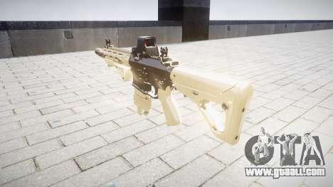 Rifle AR-15 CQB typeeotech for GTA 4 second screenshot