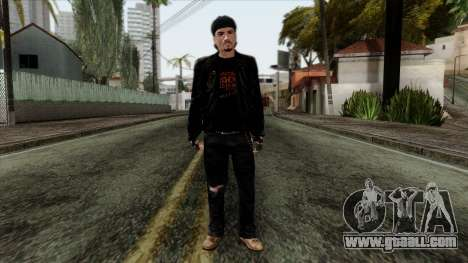 GTA 4 Skin 10 for GTA San Andreas