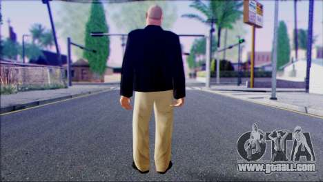 Russian Mafia Skin 1 for GTA San Andreas second screenshot