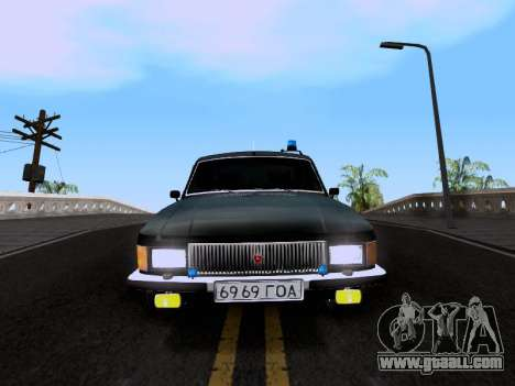 GAZ Volga 3102 for GTA San Andreas back left view