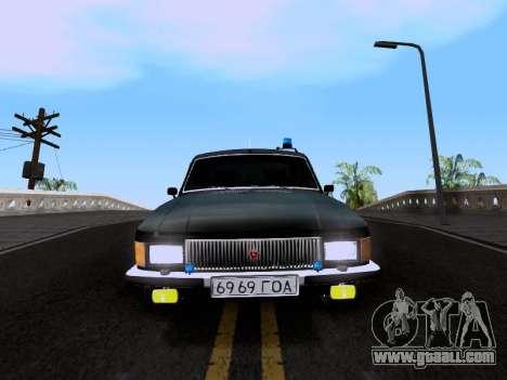 GAZ Volga 3102 for GTA San Andreas back left view