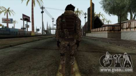 Modern Warfare 2 Skin 7 for GTA San Andreas second screenshot