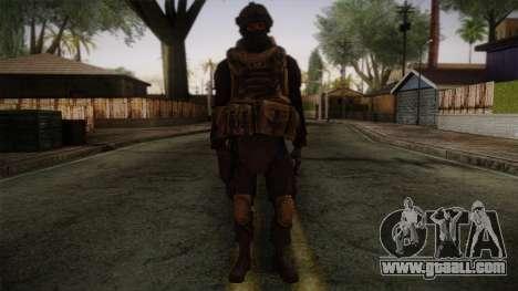 Modern Warfare 2 Skin 4 for GTA San Andreas
