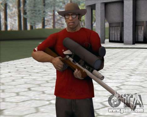 TF2 Sniper Rifle for GTA San Andreas
