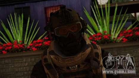 Modern Warfare 2 Skin 3 for GTA San Andreas third screenshot