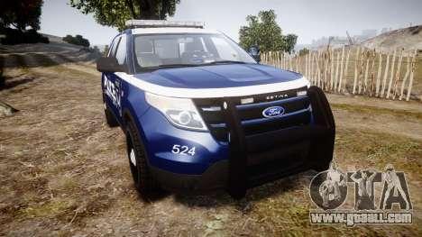 Ford Explorer 2013 LCPD [ELS] v1.0L for GTA 4