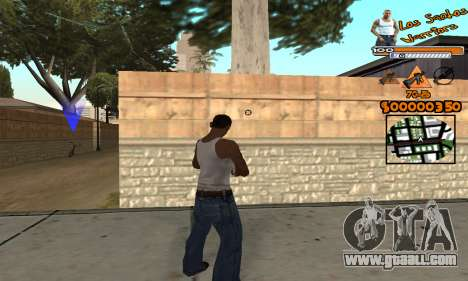C-HUD LSW for GTA San Andreas third screenshot