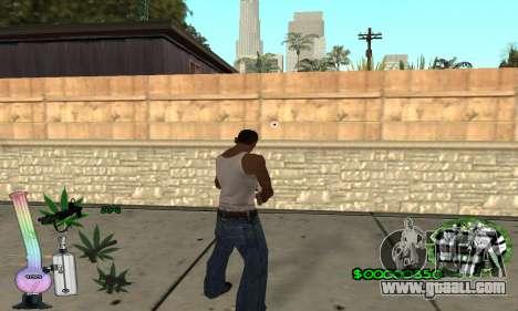 C-HUD Canabis for GTA San Andreas third screenshot