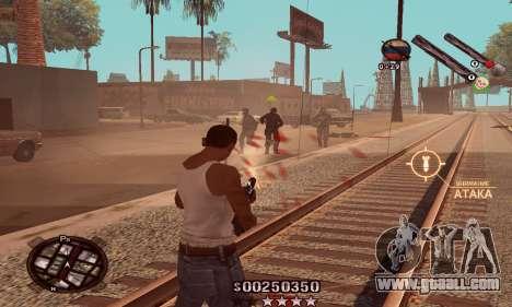 C-HUD Classic for GTA San Andreas third screenshot