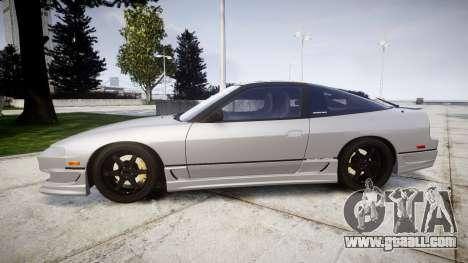 Nissan 240SX SE S13 1993 for GTA 4 left view