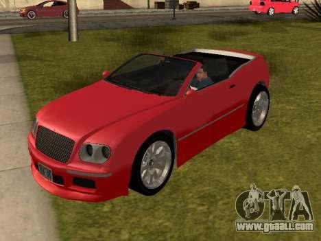 Cognoscenti Cabrio for GTA San Andreas