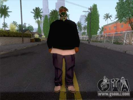 New Ballas Skin 1 for GTA San Andreas