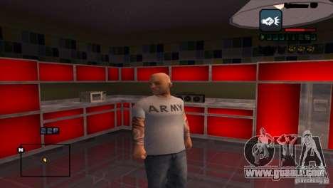C-HUD Brendi for GTA San Andreas third screenshot