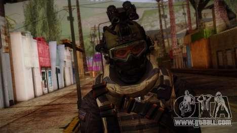 Modern Warfare 2 Skin 1 for GTA San Andreas third screenshot
