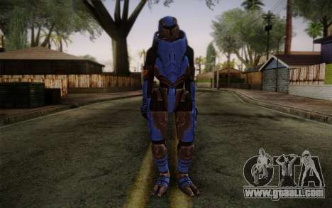 Garrus Helmet from Mass Effect 2 for GTA San Andreas