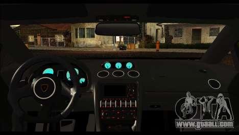 Lamborghini Gallardo LP 570-4 for GTA San Andreas back view