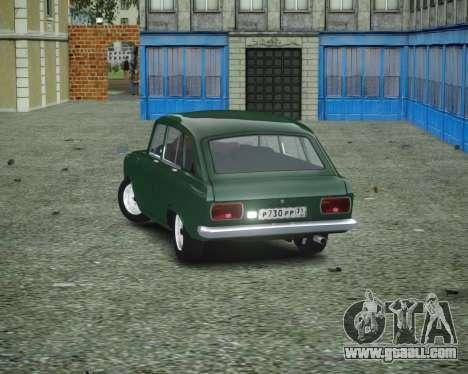IZH 2125 Combi for GTA 4 back left view