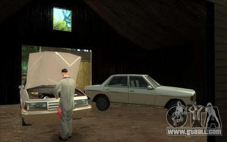 Road garage of Sigea for GTA San Andreas third screenshot