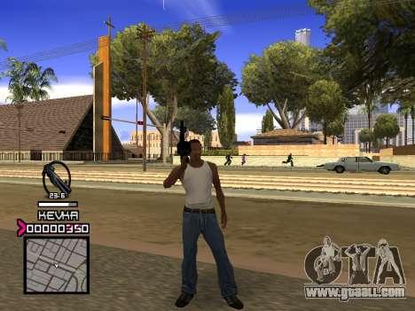 C-HUD by Kevka for GTA San Andreas