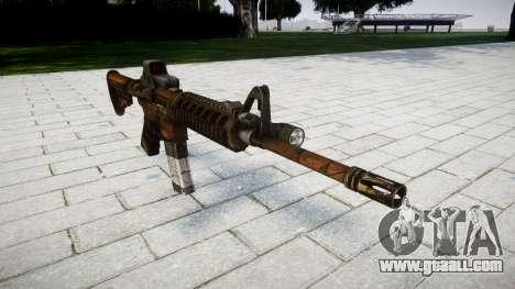 Tactical M4 assault rifle for GTA 4