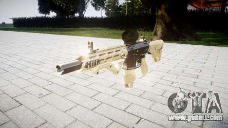 Rifle AR-15 CQB aimpoint for GTA 4