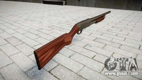 Riot shotgun Ithaca M37 for GTA 4 second screenshot