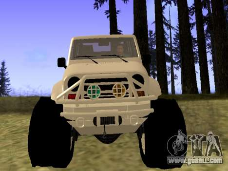 GTA 5 Mesa MerryWeather version for GTA San Andreas right view