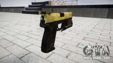 Gun HK USP 45 olive for GTA 4 second screenshot