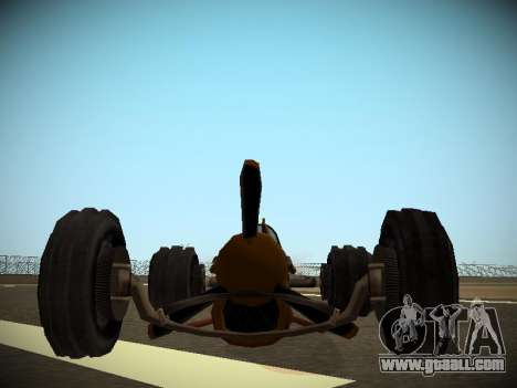 Rustler Rod Beta for GTA San Andreas right view