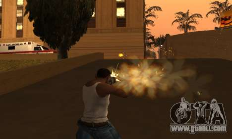 Yellow Effects for GTA San Andreas