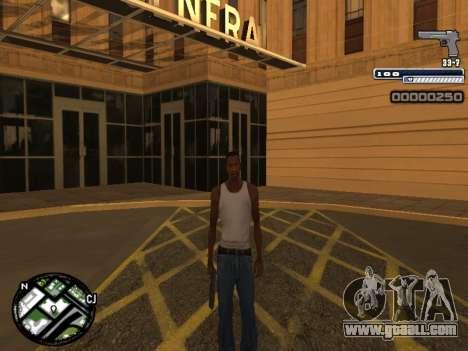 CLEO HUD Spiceman for GTA San Andreas forth screenshot