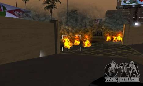Yellow Effects for GTA San Andreas fifth screenshot