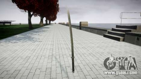 Sword-Yamato- for GTA 4 second screenshot