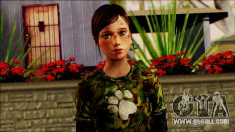 Ellie from The Last Of Us v2 for GTA San Andreas third screenshot