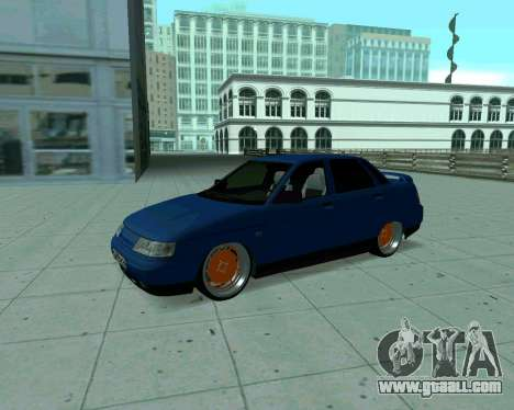 VAZ 2110 Taxi for GTA San Andreas left view