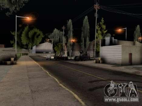 ENB Hans Realistic 1.0 for GTA San Andreas third screenshot